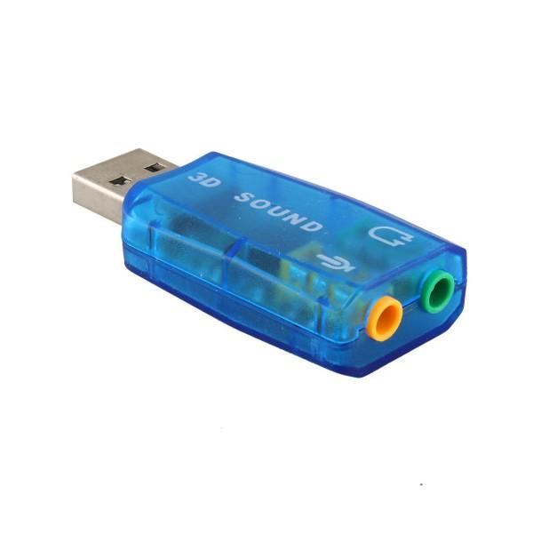USB звукова карта Vbestlife,CA61 поддържа 3D тонален и виртуален 5.1-канален звук 2
