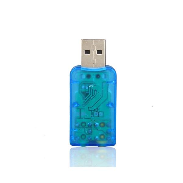 USB звукова карта Vbestlife,CA61 поддържа 3D тонален и виртуален 5.1-канален звук 4