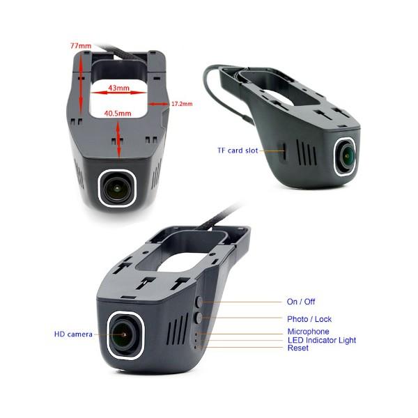 Безжична камера за кола Junsun с WI FI за Android и IOS, 12 MPX HD камера 3