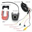Безжична камера за кола Junsun с WI FI за Android и IOS, 12 MPX HD камера 4