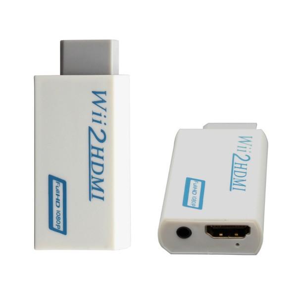 Мини конвертор Wii2HDMI преобразува видео и аудио във digital HDMI формат CA65 5