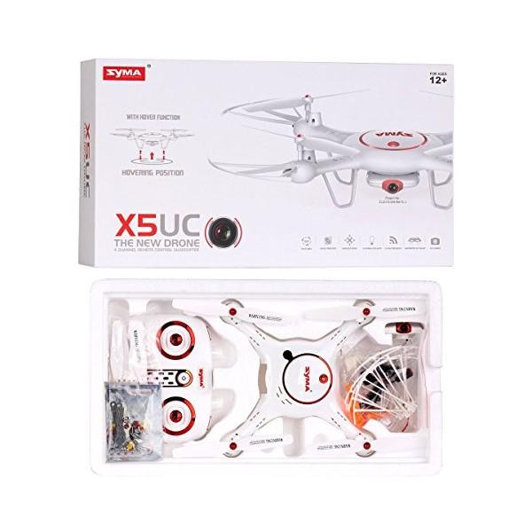 Професионален Квадрокоптер SYMA X5UC 4CH RC с HD камера Батерия 3.7 V 500 mAh 11