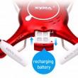 4-канален Дрон SYMA X5UW 4CH 4GB карта памет 3.7 V 500 mAh 7