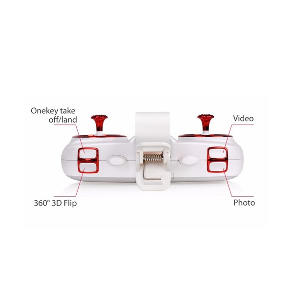 4-канален Дрон SYMA X5UW 4CH 4GB карта памет 3.7 V 500 mAh 10