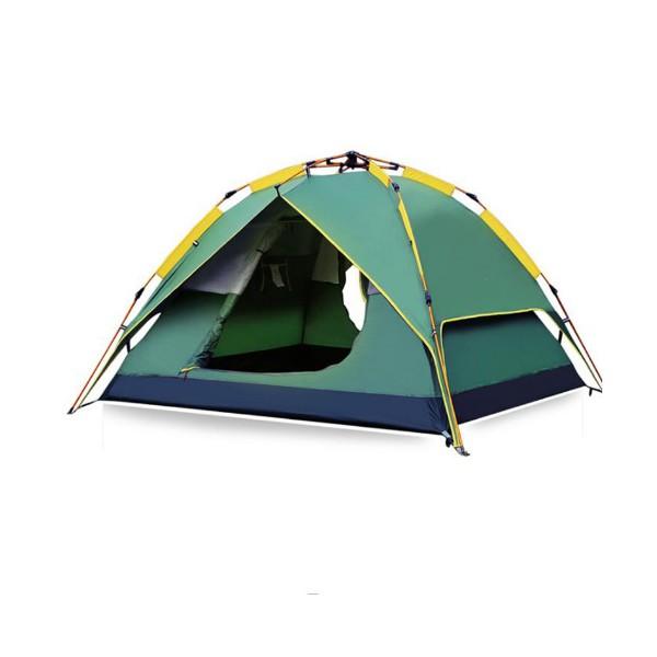 BS Wolf палатка с двойни слоеве Сенник и Удобна чанта PALAT3