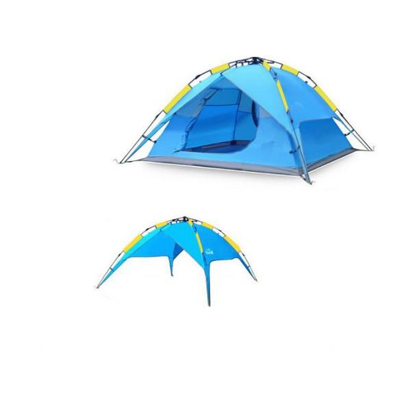 BS Wolf палатка с двойни слоеве Сенник и Удобна чанта PALAT3 2