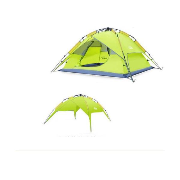 BS Wolf палатка с двойни слоеве Сенник и Удобна чанта PALAT3 3