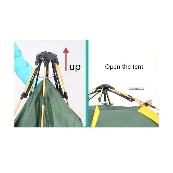 BS Wolf палатка с двойни слоеве Сенник и Удобна чанта PALAT3 4
