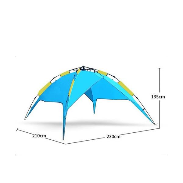 BS Wolf палатка с двойни слоеве Сенник и Удобна чанта PALAT3 7