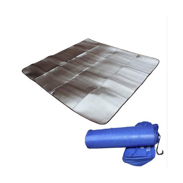 Постелка за къмпинг с двойно алуминиево покритие Haewolf 200 см x 200 см