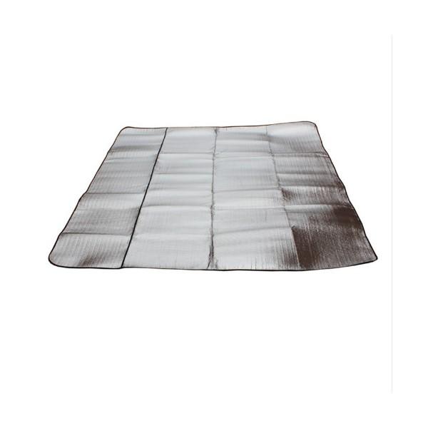 Постелка за къмпинг с двойно алуминиево покритие Haewolf 200 см x 200 см 2