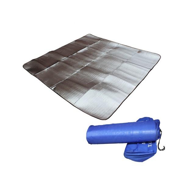 Постелка за къмпинг с двойно алуминиево покритие Haewolf 200 см x 200 см 4