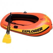 Надуваема лодка за риболов INTEX EXPLORER 200 58331 от PVC до 210 кг 185 см х 94 см х 41 см