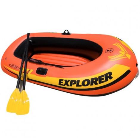 Надуваема лодка за риболов INTEX EXPLORER 200 58331 PVC до 210 кг 185 х 94 х 41