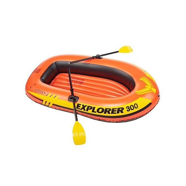 Надуваема лодка за риболов INTEX EXPLORER 200 58331 PVC до 210 кг 185 х 94 х 41 3