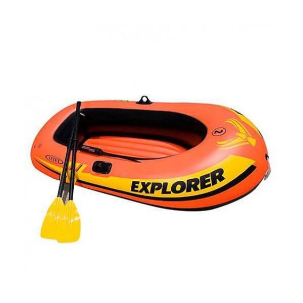 Надуваема лодка за риболов INTEX EXPLORER 200 58331 PVC до 210 кг 185 х 94 х 41 4