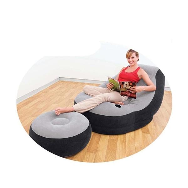 Надуваем диван с подложка за крака INTEX модел 68564 влагоустойчива от винил