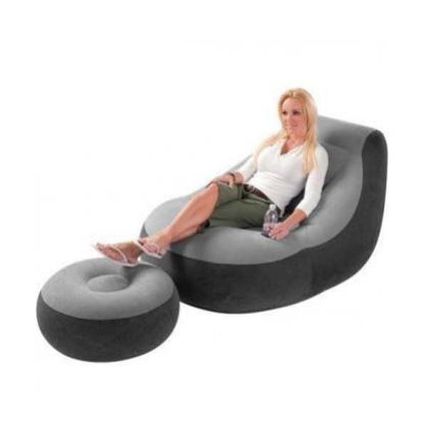 Надуваем диван с подложка за крака INTEX модел 68564 влагоустойчива от винил 5