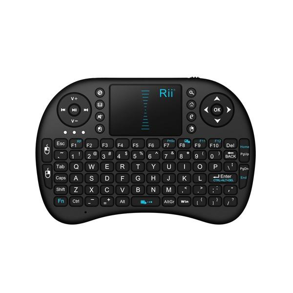 Безжична клавиатура RII 8 MINI за таблети, телевизионни кутии, конзоли и други 2