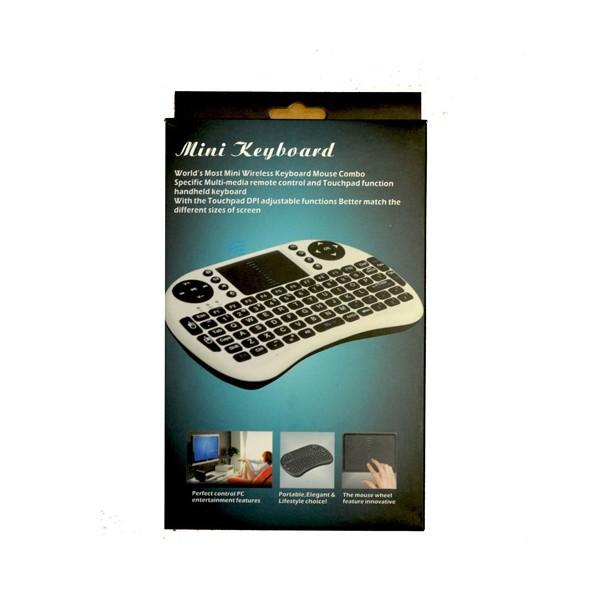 Безжична клавиатура RII 8 MINI за таблети, телевизионни кутии, конзоли и други 10