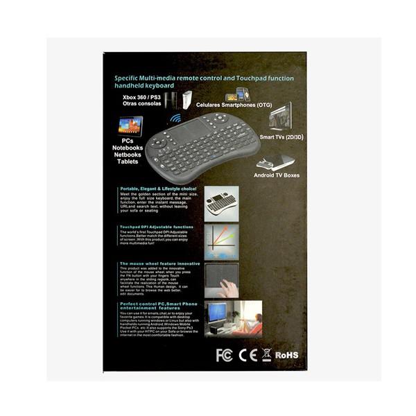 Безжична клавиатура RII 8 MINI за таблети, телевизионни кутии, конзоли и други 11
