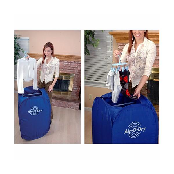 Сгъваема малка електрическа сушилня за дрехи компактна и преносима Air-O-Dry TV6 5