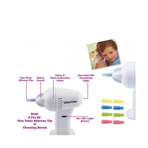 WaxVac уред за почистване на уши 2