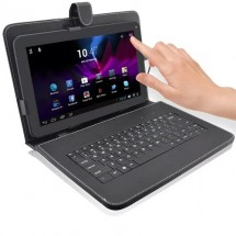 Титан 9 инча таблет : 1,5 четириядрен, 1 gb ram + клавиатура + скрин протектор