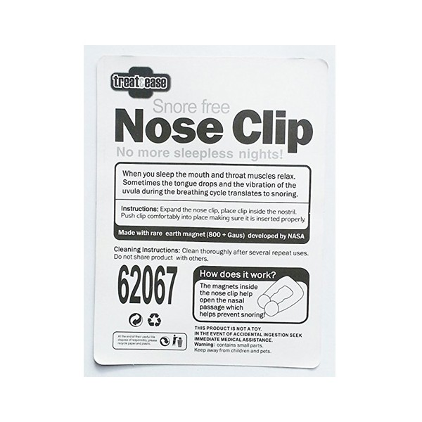 Устройство против хъркане Snore Free Nose Clip TV24 2