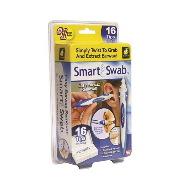 Smart Swab – тампон за почистване на уши с 16 резервни глави TV21 10