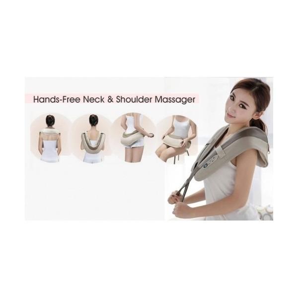 Тапинг масажор за врат гръб и рамене - шиацу масаж epulse TV73 4