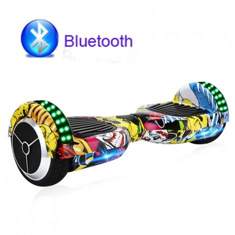 Електрически скутер с LED светлини 6.5 инча гуми 250 W