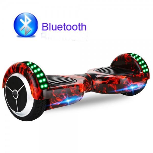 Електрически скутер с LED светлини 6.5 инча гуми 250 W 4