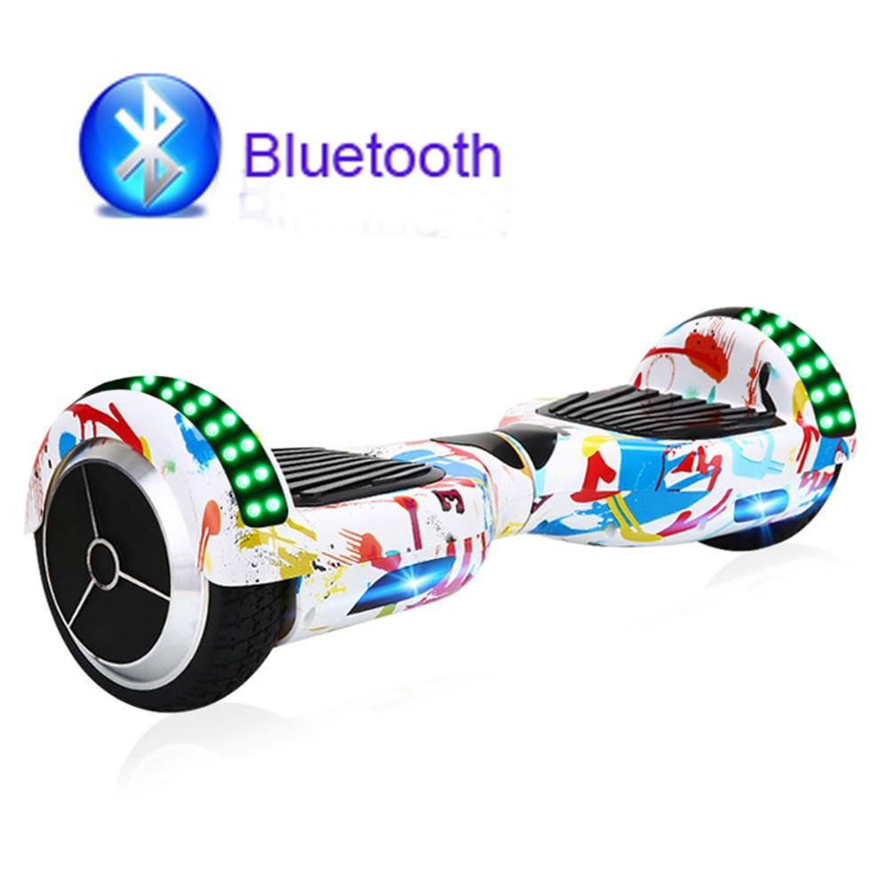 Електрически скутер с LED светлини 6.5 инча гуми 250 W 2
