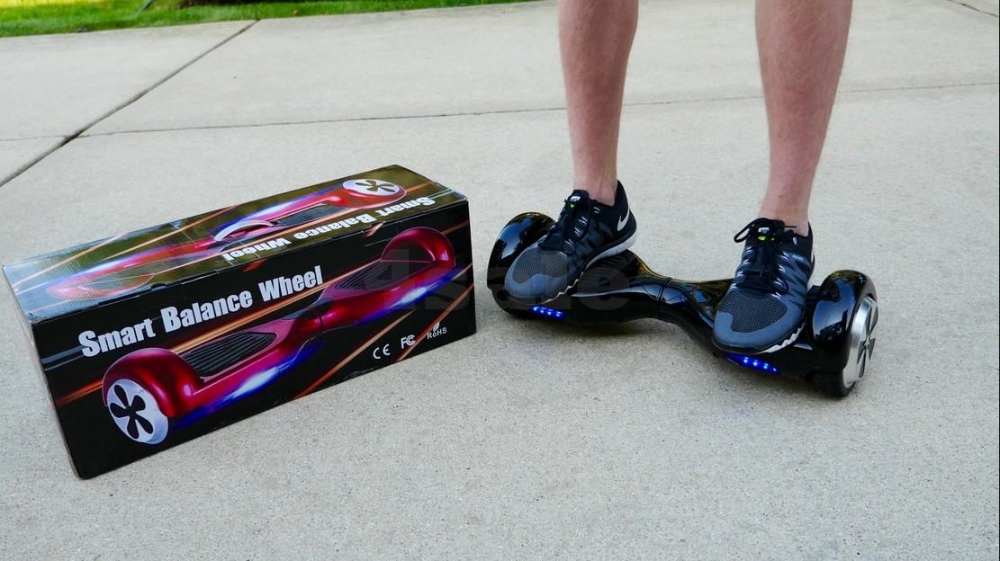 Електрически скутер с LED светлини 6.5 инча гуми 250 W 9