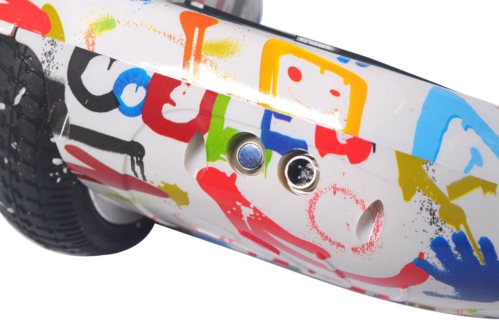 Електрически скутер с LED светлини 6.5 инча гуми 250 W 15