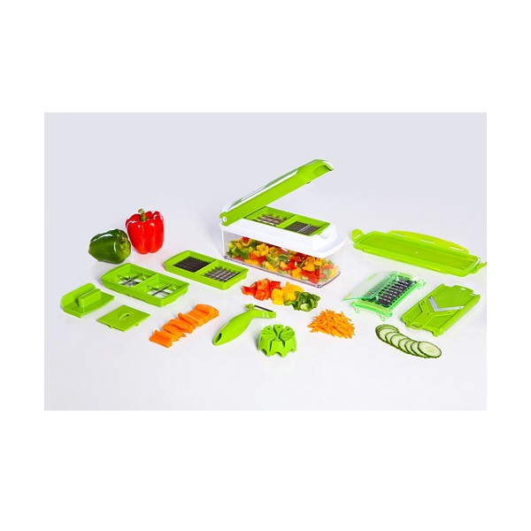 Кухненско Ренде за зеле, моркови с контейнер - Nicer Dicer Plus от 13 частиTV32 1