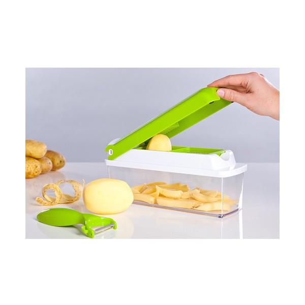 Кухненско Ренде за зеле, моркови с контейнер - Nicer Dicer Plus от 13 частиTV32 4
