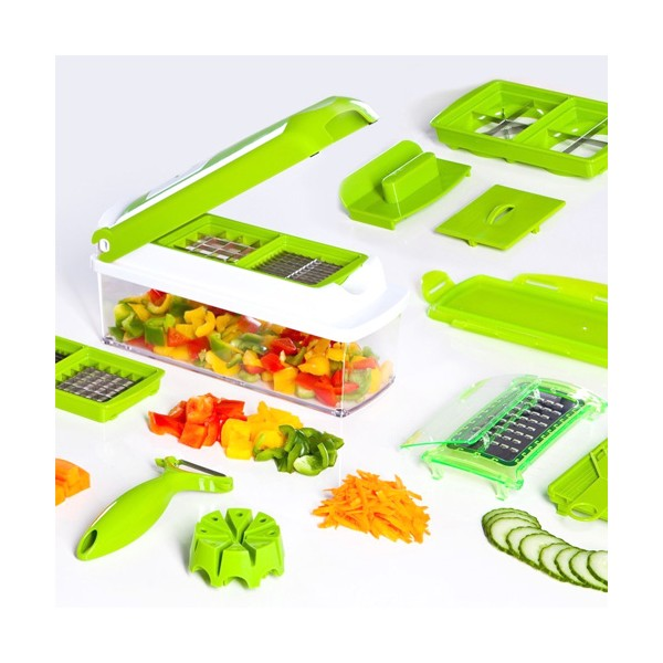 Кухненско Ренде за зеле, моркови с контейнер - Nicer Dicer Plus от 13 частиTV32 5