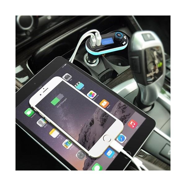 Bluetooth трансмитер за кола - Vodool 618C HF6 2