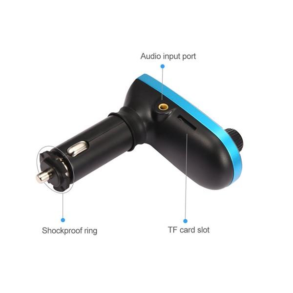 Bluetooth трансмитер за кола - Vodool 618C HF6 4