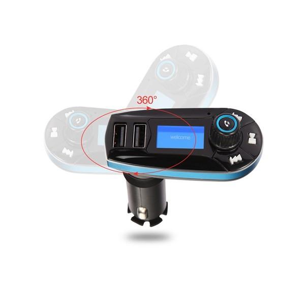 Bluetooth трансмитер за кола - Vodool 618C HF6 5