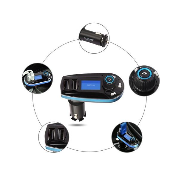 Bluetooth трансмитер за кола - Vodool 618C HF6 6