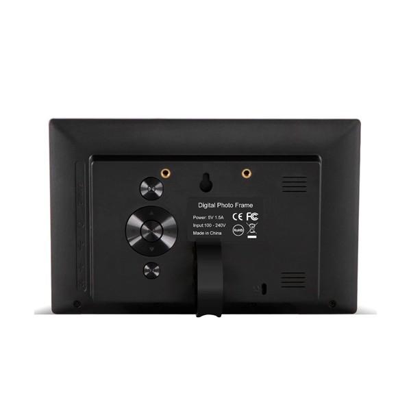 Дигитална фото рамка с 7 инча HD LCD екран и вградени будилник и часовник 5