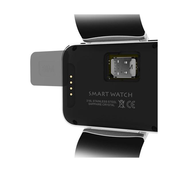 """Смарт фитнес часовник - KOBWA DM98 СИМ карта, камера, 2.2"""" HD IPS LCD екран SMW7 13"""