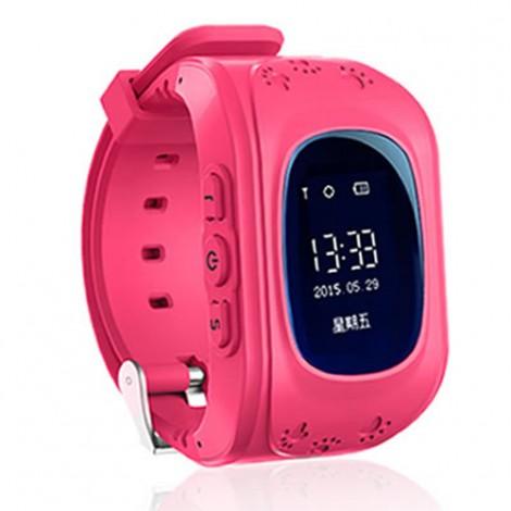 GPS часовник -телефон за деца - тракер за проследяване smart watch q50