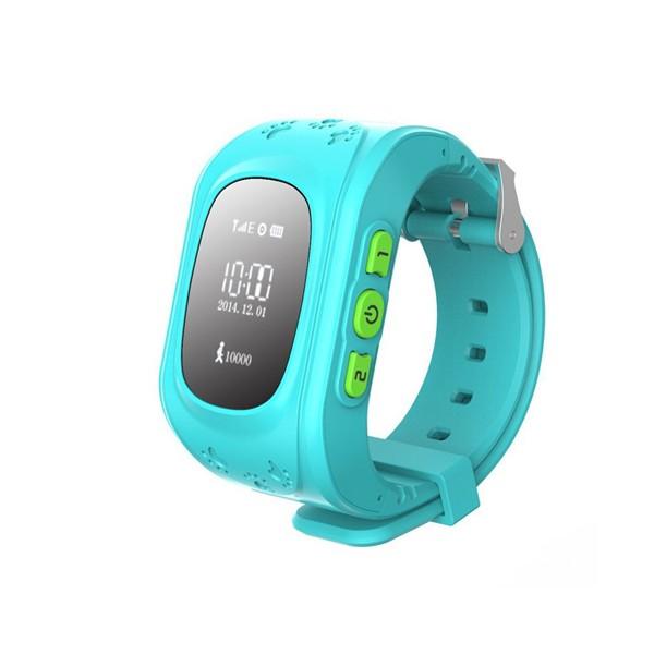 GPS часовник -телефон за деца - тракер за проследяване smart watch q50 13