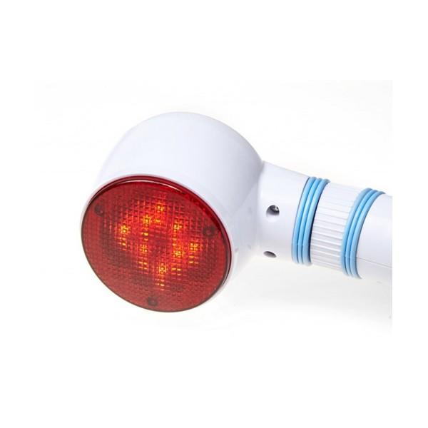 Масажор с инфрачервена светлина и 4 приставки при целулит Wellife WP-A809C TV25 3