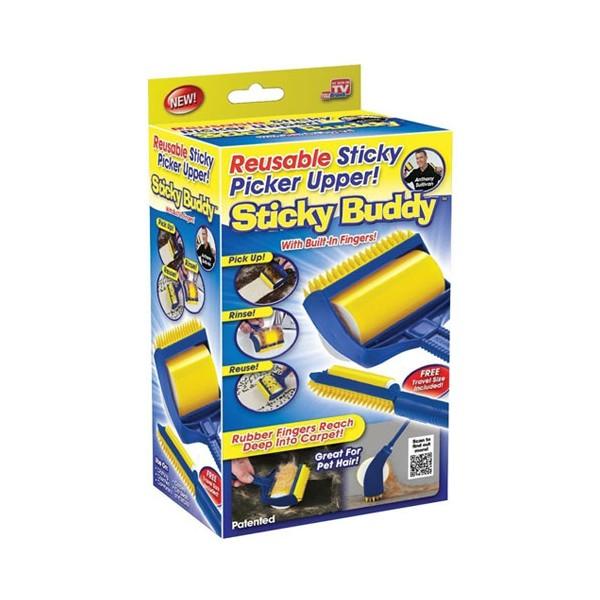 Уред за събиране, почистване на косми от домашни любимци STICKY BUDDY TV60