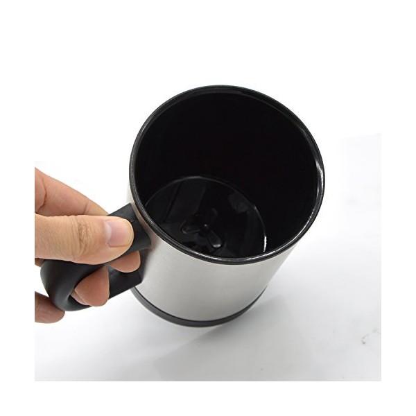 Саморазбъркваща се термо чаша за капучино кафе чай или горещ шоколад TV54 7